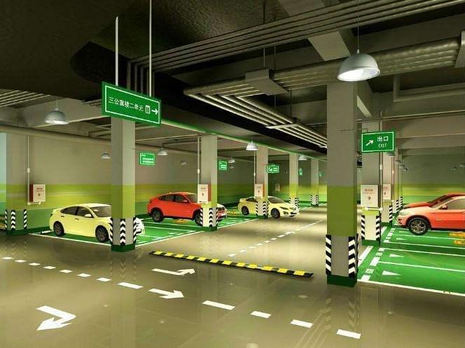 停车场车位设计