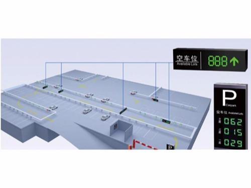 超声波车位引导系统