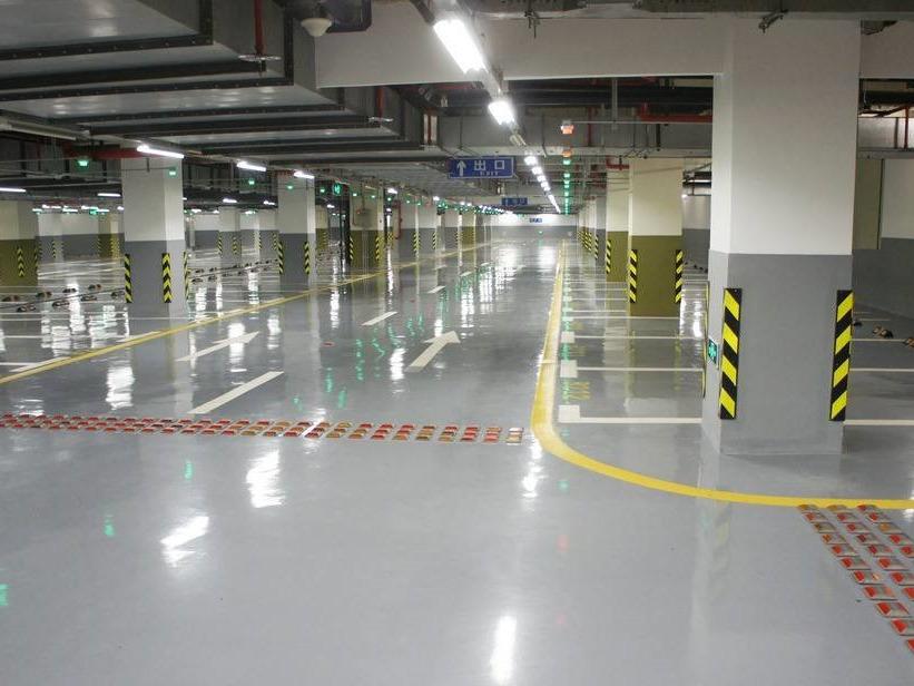 停车场规划标线