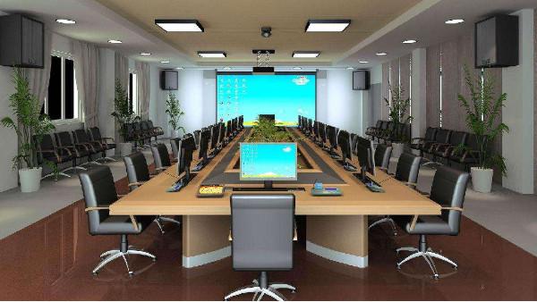 监控系统安装公司浅析智慧园区传统会议室现状