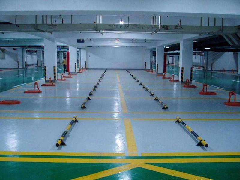 停车场划线标准