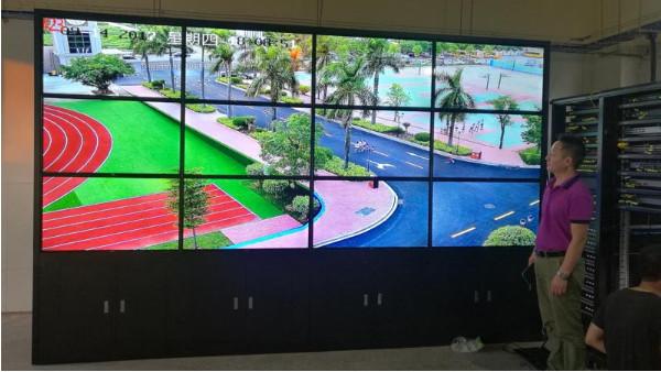 监控系统安装用来显示的大屏幕有哪几种选择
