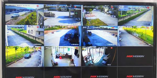 云浮市季彩包装制品有限公司工厂视频监控系统、综合布线工程